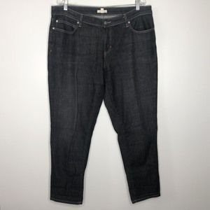 Eileen Fisher Plus 14 Jeans Dark Wash Denim Skinny
